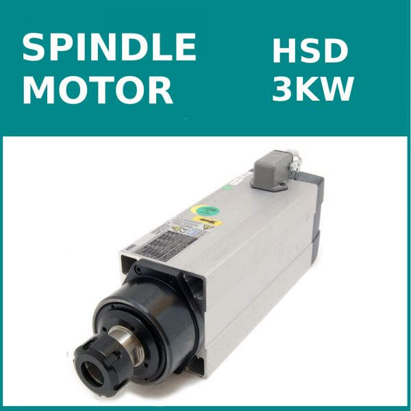 اسپیندل HSD 3KW