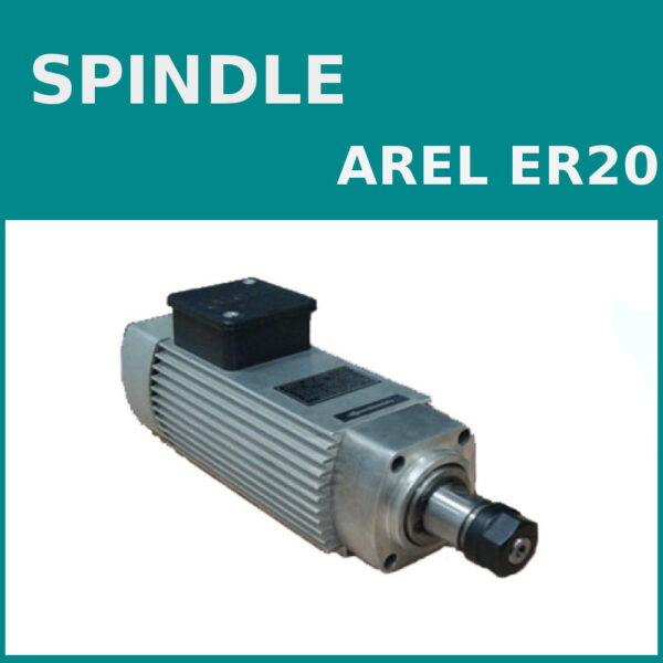 اسپیندل موتور آرل ER20